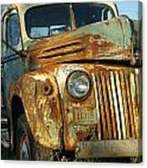 Old Tri-way Truck Canvas Print