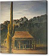 Old Tucson Home Canvas Print