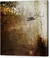Old Walls Divide Canvas Print