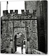 Old Walls Canvas Print