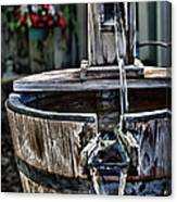 Old Water Pump Canvas Print