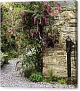 Old Water Pump, Ram House Garden, Co Canvas Print