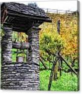 Old Water Well Canvas Print