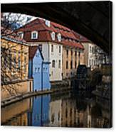 Old Water Wheel Canvas Print