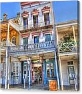 Old West Architecture Canvas Print