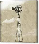 Old Windmill I Canvas Print
