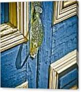 Old Wood Door Canvas Print