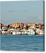 Olde Naples Seaport Canvas Print