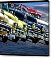 Oldies Get To Gather Canvas Print