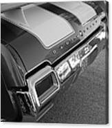 Olds Cs In Black And White Canvas Print