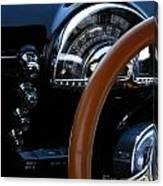 Oldsmobile 88 Dashboard Canvas Print