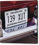Oldsmobile Rocket 88 Canvas Print