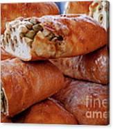 Olive Bread Canvas Print
