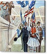 Olympic Games, 1896 Canvas Print