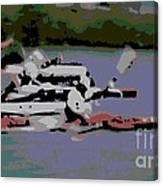 Olympic Lightweight Double Sculls Canvas Print