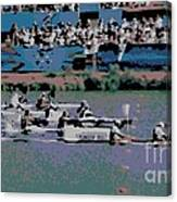 Olympic Rowing Canvas Print