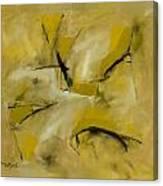 Om Path Canvas Print