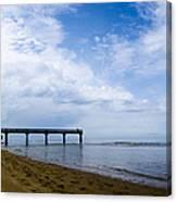 Omaha Beach Canvas Print