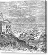 Omaha, Nebraska, 1869 Canvas Print