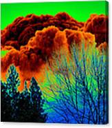 Ominous Cloudfront Canvas Print