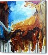 On Safari Canvas Print