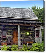 On The Back Porch Canvas Print
