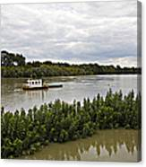 On The Danube Canvas Print