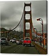 On The Golden Gate Canvas Print