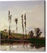 On The Outskirts Of Paris Canvas Print