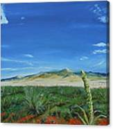 On The Road To Cimarron Canvas Print