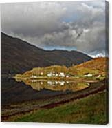 On The Shore Of Loch Duich Canvas Print