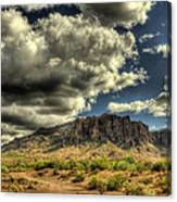On The Superstitions  Canvas Print