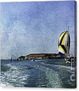 On The Water 2 - Venice Canvas Print