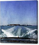 On The Water 5 - Venice Canvas Print