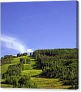On Vail Mountain II Canvas Print