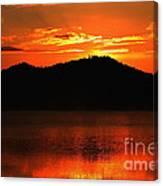 Onaping Canada Sunrise Canvas Print