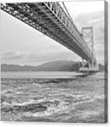 Onaruto Bridge Canvas Print