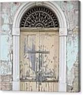 Once Proud Doorway Canvas Print