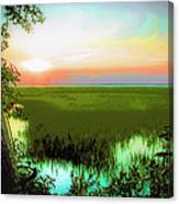 Once Upon A Time At Jekyll Island Canvas Print