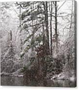One Alabama Christmas Canvas Print