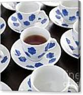 One Cup Of Tea Canvas Print