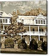 One Hundred Year Old Mountain Inn Canvas Print