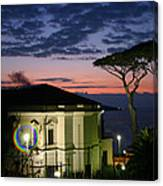 One Night In Sorrento Canvas Print