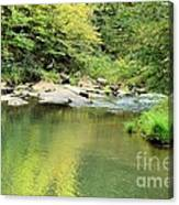 One Of Those Peaceful Places Canvas Print