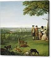 One Tree Hill - Greenwich Canvas Print