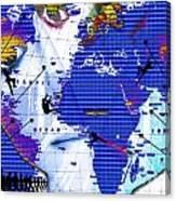 One Vs. World Canvas Print