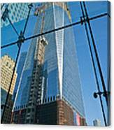 One Wtc Rising Canvas Print