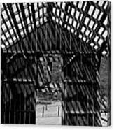Open Air Barn Canvas Print