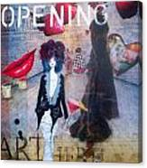 Opening Night Canvas Print