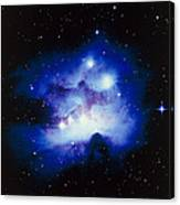 Optical Image Of The Nebula Ngc 1977 In Orion Canvas Print